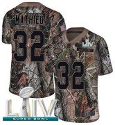 Wholesale Cheap Nike Chiefs #32 Tyrann Mathieu Camo Super Bowl LIV 2020 Youth Stitched NFL Limited Rush Realtree Jersey