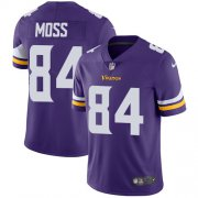 Wholesale Cheap Nike Vikings #84 Randy Moss Purple Team Color Youth Stitched NFL Vapor Untouchable Limited Jersey