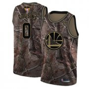 Wholesale Cheap Warriors #0 DeMarcus Cousins Camo 2019 Finals Bound Basketball Swingman Realtree Collection Jersey