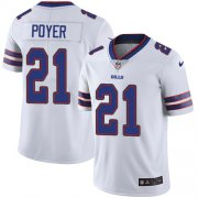 Wholesale Cheap Nike Bills #21 Jordan Poyer White Youth Stitched NFL Vapor Untouchable Limited Jersey