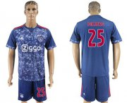 Wholesale Cheap Ajax #25 Dolberg Away Soccer Club Jersey