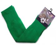 Wholesale Cheap Blank Soccer Football Sock Green