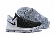 Wholesale Cheap Nike KD 10 Shoes Black White