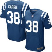 Wholesale Cheap Nike Colts #38 T.J. Carrie Royal Blue Team Color Men's Stitched NFL Vapor Untouchable Elite Jersey