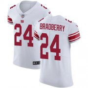 Wholesale Cheap Nike Giants #24 James Bradberry White Men's Stitched NFL New Elite Jersey