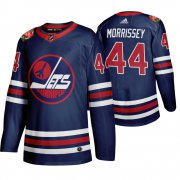 Wholesale Cheap Winnipeg Jets #44 Josh Morrissey Men's 2019-20 Heritage Classic Wha Navy Stitched NHL Jersey