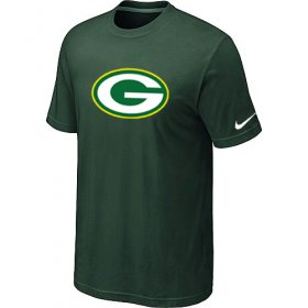Wholesale Cheap Nike Green Bay Packers Sideline Legend Authentic Logo Dri-FIT NFL T-Shirt Dark Green