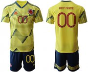 Wholesale Cheap Colombia Personalized Home Soccer Country Jersey