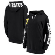 Wholesale Cheap Pittsburgh Pirates G-III 4Her by Carl Banks Women's 12th Inning Pullover Hoodie Black