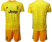 Wholesale Cheap Juventus Blank Yellow Goalkeeper Soccer Club Jersey