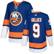 Wholesale Cheap Adidas Islanders #9 Clark Gillies Royal Blue Home Authentic Stitched NHL Jersey