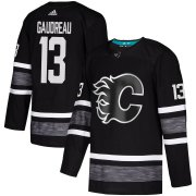 Wholesale Cheap Adidas Flames #13 Johnny Gaudreau Black Authentic 2019 All-Star Stitched Youth NHL Jersey