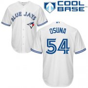 Wholesale Cheap Blue Jays #54 Roberto Osuna White Cool Base Stitched Youth MLB Jersey