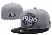Wholesale Cheap San Francisco 49ers fitted hats09