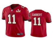 Wholesale Cheap Men's Tampa Bay Buccaneers #11 Blaine Gabbert Red 2021 Super Bowl LV Limited Stitched NFL Jersey