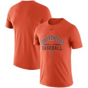 Wholesale Cheap San Francisco Giants Nike Away Practice T-Shirt Orange