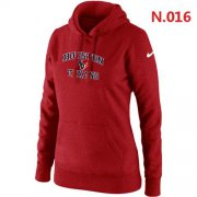 Wholesale Cheap Women's Nike Houston Texans Heart & Soul Pullover Hoodie Red