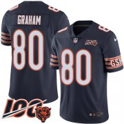 Wholesale Cheap Nike Bears #80 Jimmy Graham Navy Blue Team Color Men's Stitched NFL 100th Season Vapor Untouchable Limited Jersey