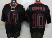 Wholesale Cheap Redskins #10 Robert Griffin III Lights Out Black Stitched NFL Jersey