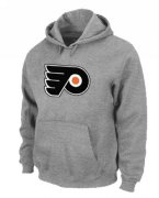 Wholesale Cheap NHL Philadelphia Flyers Big & Tall Logo Pullover Hoodie Grey