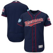 Wholesale Minnesota Twins Platinum Collection Long Sleeve Tri-Blend T-Shirt Black
