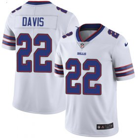 Wholesale Cheap Nike Bills #22 Vontae Davis White Youth Stitched NFL Vapor Untouchable Limited Jersey