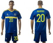 Wholesale Cheap Bosnia Herzegovina #20 Hajrovic Home Soccer Country Jersey