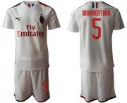 Wholesale Cheap AC Milan #5 Bonaventura Away Soccer Club Jersey