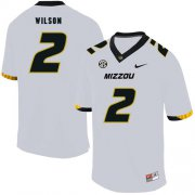 Wholesale Cheap Missouri Tigers 2 Micah Wilson White Nike College Football Jersey