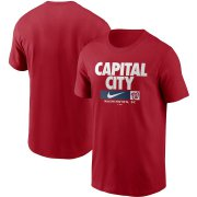 Wholesale Cheap Washington Nationals Nike Local Nickname T-Shirt Red
