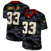 Cheap Los Angeles Chargers #33 Derwin James Jr Men's Nike 2020 Black CAMO Vapor Untouchable Limited Stitched NFL Jersey