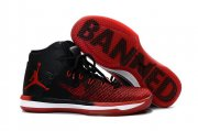 Wholesale Cheap Womens Air Jordan 31 BANNED Red/Black-White