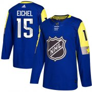 Wholesale Cheap Adidas Sabres #15 Jack Eichel Royal 2018 All-Star Atlantic Division Authentic Youth Stitched NHL Jersey