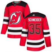Wholesale Cheap Adidas Devils #35 Cory Schneider Red Home Authentic Drift Fashion Stitched NHL Jersey