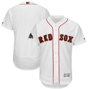Wholesale Cheap Boston Red Sox Majestic 2019 Gold Program Flex Base Team Jersey White