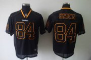 Wholesale Cheap Steelers #84 Antonio Brown Lights Out Black Stitched NFL Jersey