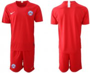 Wholesale Cheap Chile Blank Home Soccer Country Jersey