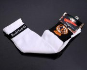 Wholesale Cheap Real Madrid Soccer Football Sock White