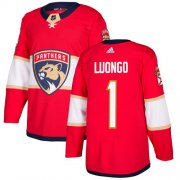Wholesale Cheap Adidas Panthers #1 Roberto Luongo Red Home Authentic Stitched Youth NHL Jersey