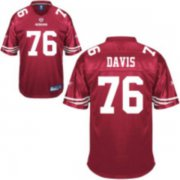 Wholesale Cheap 49ers #76 Anthony Davis Red Stitched NFL Jersey
