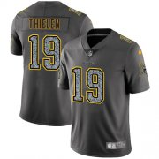 Wholesale Cheap Nike Vikings #19 Adam Thielen Gray Static Youth Stitched NFL Vapor Untouchable Limited Jersey
