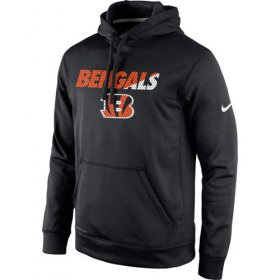 Wholesale Cheap Cincinnati Bengals Nike Kick Off Staff Performance Pullover Hoodie Black