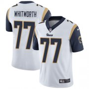 Wholesale Cheap Nike Rams #77 Andrew Whitworth White Men's Stitched NFL Vapor Untouchable Limited Jersey