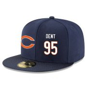 Wholesale Cheap Chicago Bears #95 Richard Dent Snapback Cap NFL Player Navy Blue with White Number Stitched Hat