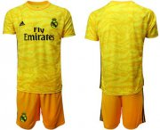 Wholesale Real Madrid #31 R.Yanez Red Goalkeeper Soccer Club Jersey