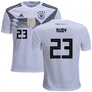 Wholesale Cheap Germany #23 Rudy White Home Kid Soccer Country Jersey