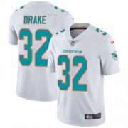 Wholesale Cheap Nike Dolphins #32 Kenyan Drake White Men's Stitched NFL Vapor Untouchable Limited Jersey