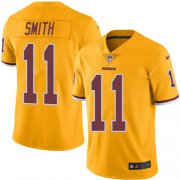 Wholesale Cheap Nike Redskins #11 Alex Smith Gold Youth Stitched NFL Limited Rush Jersey