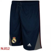 Wholesale Cheap Adidas Real Madrid CF Soccer Shorts Dark Blue