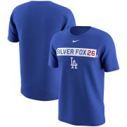 Wholesale Cheap Los Angeles Dodgers #26 Chase Utley Nike Legend Player Nickname Name & Number Performance Tri-Blend T-Shirt Royal